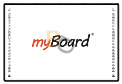 Tablica interaktywna myBoard Black 2C 85